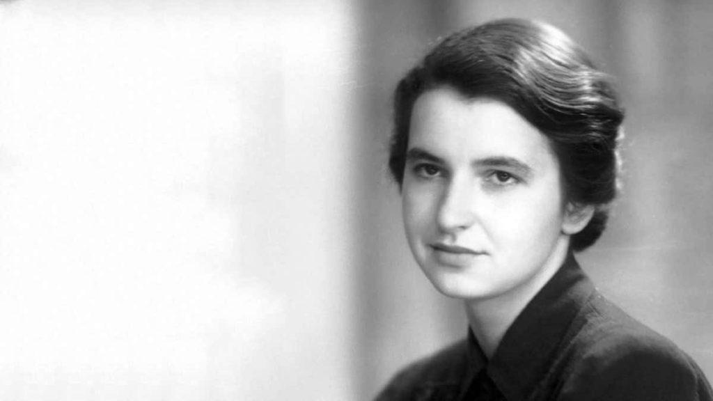 Rosalind Franklin discovered DNA structure.